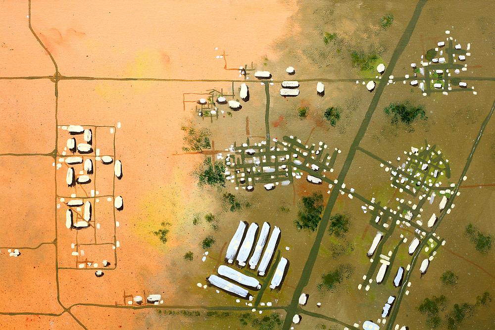 """Weapons Of Mass Destruction – The Bunkers Of Al Qa Qaa"" Quadrant 1 by Raoul Isidro"
