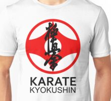 Kyokushin Karate Kanji and Symbol  Unisex T-Shirt