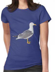 Yellow Legged Gull Womens Fitted T-Shirt