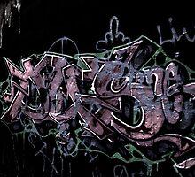 "New Bedford Graffiti, ""Enhanced w/HDR"" by DrakeP"