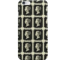Block of Penny Black stamps iPhone Case/Skin