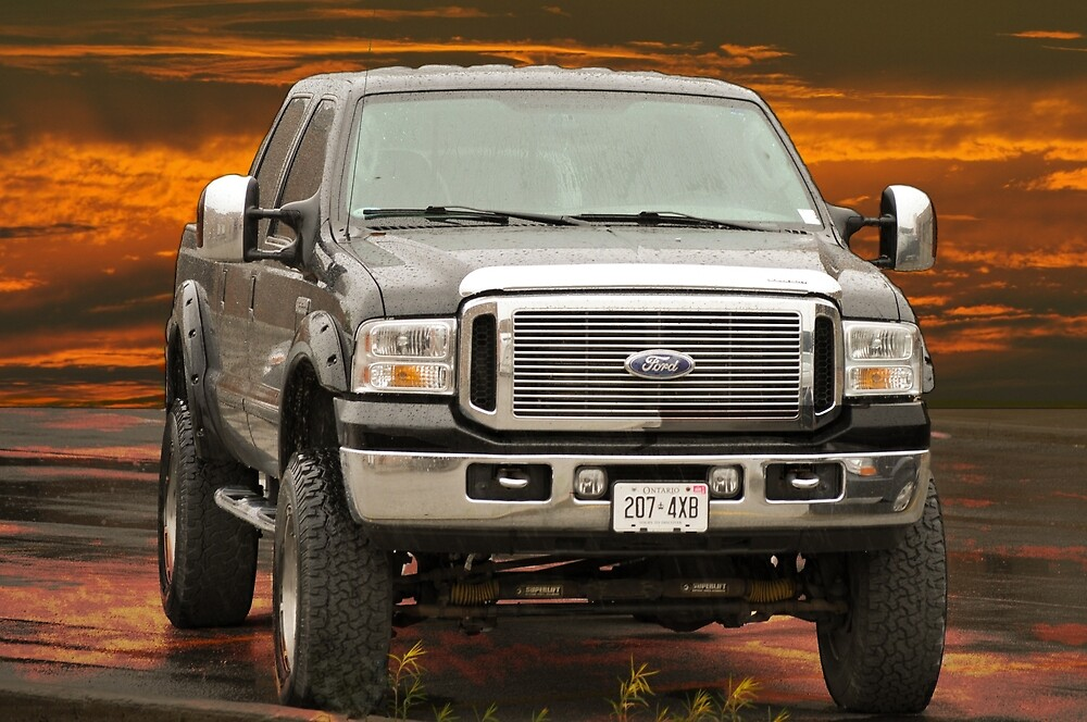 Ford F350 by Gary Paakkonen