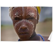 Boy from Arbore tribe, Omo Valley  Poster
