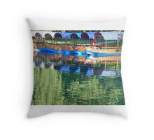 Lake Bled - Slovenia Throw Pillow