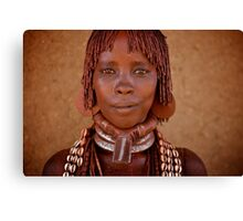 Hammer Woman, Omo Valley Canvas Print