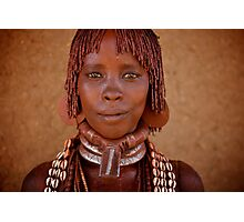Hammer Woman, Omo Valley Photographic Print