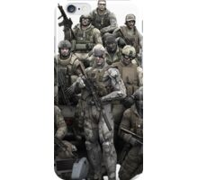Metal Gear Solid T-shirt iPhone Case/Skin