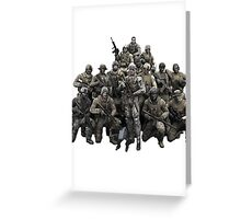 Metal Gear Solid T-shirt Greeting Card