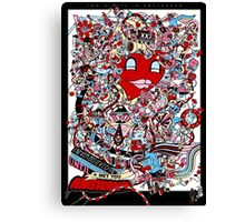Two Nights in Amsterdam Canvas Print