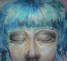 Bubblegum girl (detail) #2 by Hhenderson