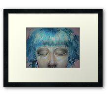Bubblegum girl (detail) #2 Framed Print