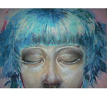 Bubblegum girl (detail) #2 Photographic Print