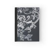 Lizards with Cowslip Orchids Hardcover Journal