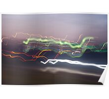 light trail 2 Poster