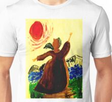 Absorbing the Warmth of the Sun Unisex T-Shirt
