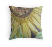 Sunflower in Pastel Throw Pillow