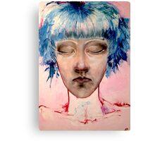 Bubblegum Girl. Canvas Print