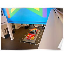 BMW 3.0 CSL Calder Art Car Poster