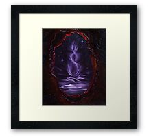 The Fabric of Time and Space Framed Print