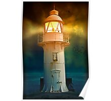At the Lighthouse Poster