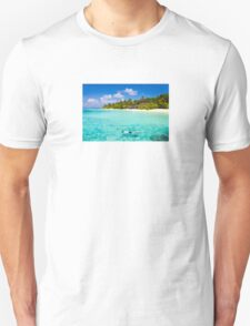 Snorkelling in the Maldivian Atolls - Indian Ocean T-Shirt