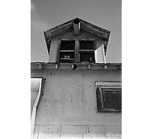 Cotton plantation window Photographic Print
