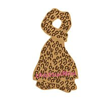 Alex Loves Louis Vuitton Leopard Stole by LittleKingdoms
