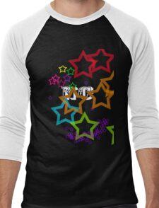 Rainbow Stars 2 Men's Baseball ¾ T-Shirt