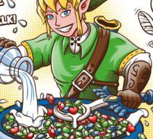 Link's Fruipees Sticker