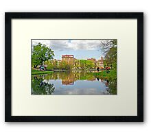 The Meers-Central Park, New York City Framed Print
