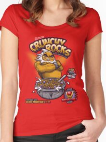 Darunia's Crunchy Rocks Women's Fitted Scoop T-Shirt