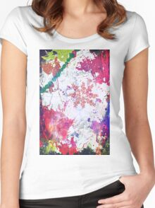Color Splash Your Life Women's Fitted Scoop T-Shirt