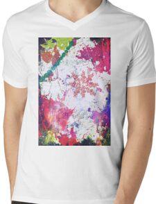 Color Splash Your Life Mens V-Neck T-Shirt
