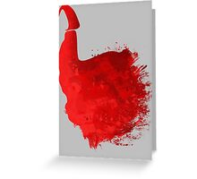 The Red Cap  Greeting Card