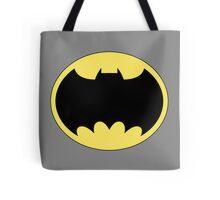 DKR TV round Bat Tote Bag
