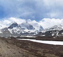 Athabaska Glacier panorama by Andrey Popov