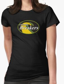 Orlando Breakers Football Team Womens Fitted T-Shirt