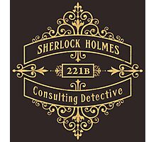 Consulting Detective Photographic Print