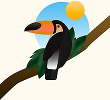 Joungle Toucan by moremo
