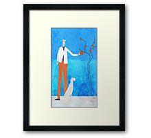 The Orange Tree Framed Print