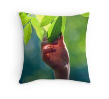 Young as every moment Throw Pillow