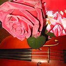 Roses and Violin by jsmusic