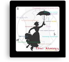 The Nanny- All the Things Canvas Print