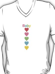 Baby Hearts - colorful T-Shirt