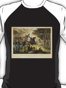 General Kearney's Gallant Charge Battle of Chantilly September 1, 1862 T-Shirt