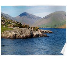 Wast Water & Great Gable Poster