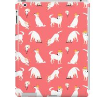White labrador iPad Case/Skin