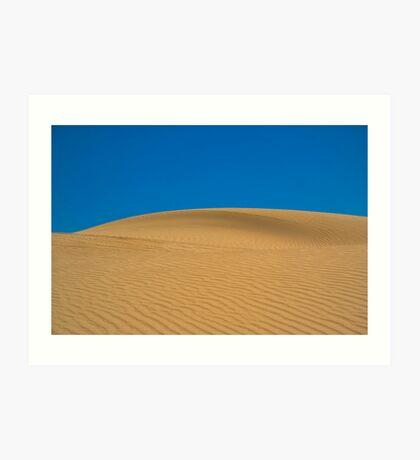Dunes. Art Print