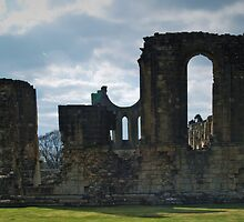 Byland Abbey by WatscapePhoto