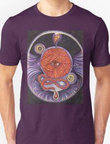 KNITCROMANCY: Unraveling the Cosmic Yarn T-Shirt